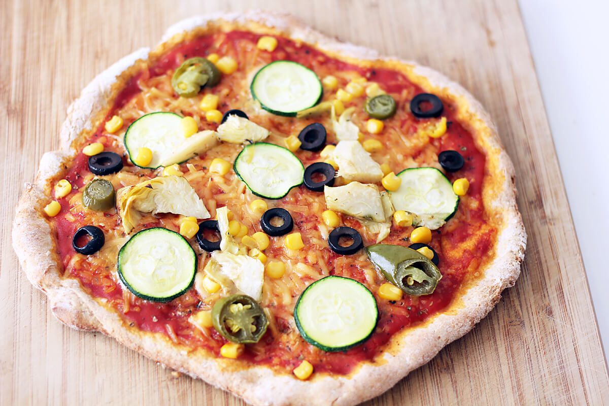 Pizzateig (Vegan)