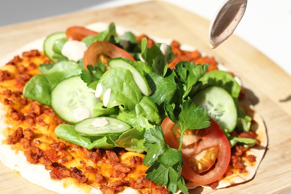 Veganer Lahmacun – Türkische Pizza