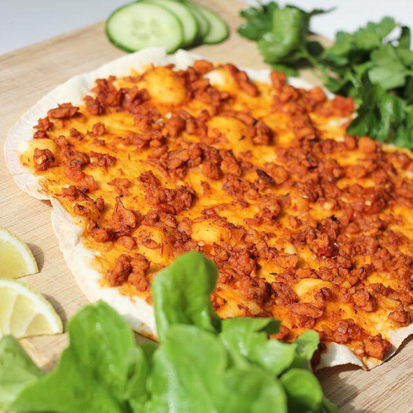 Veganer Lahmacun – Türkische Pizza Cover