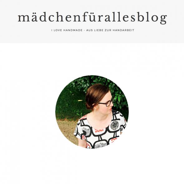 Cover Interview mädchenfürallesblog