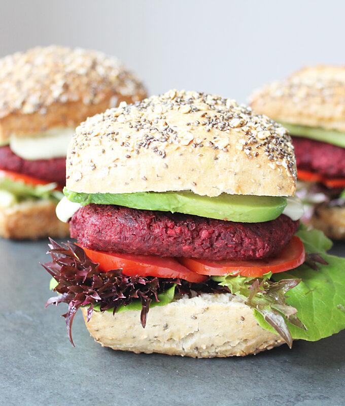 Vegan Beet Burger