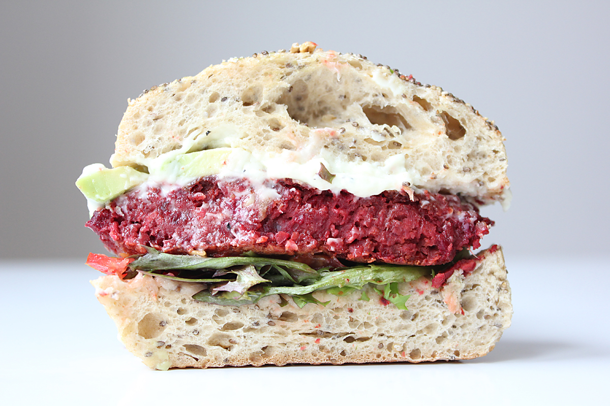Vegan Beet Burger