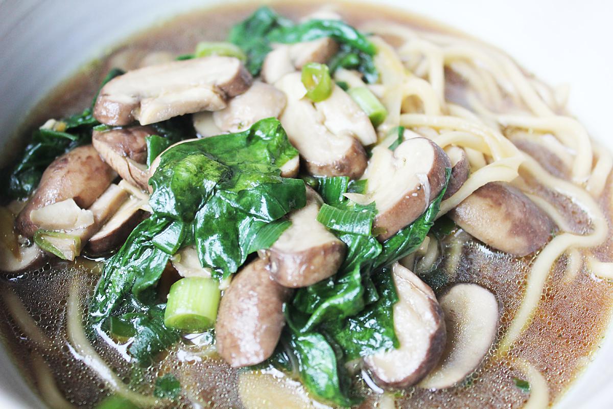 Miso Ramen Noodle Soup
