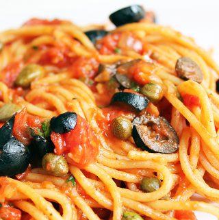 Spaghetti alla Puttanesca Cover