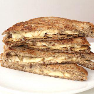 Erdnussbutter-Bananen-Sandwich Cover