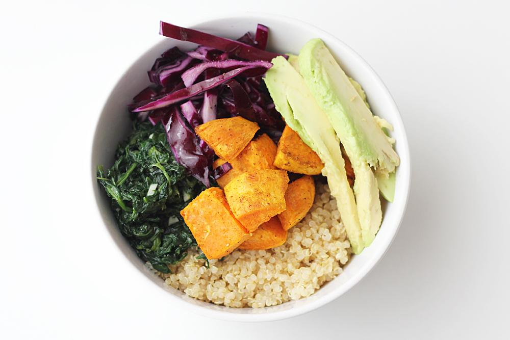 Vegane Buddha Bowl
