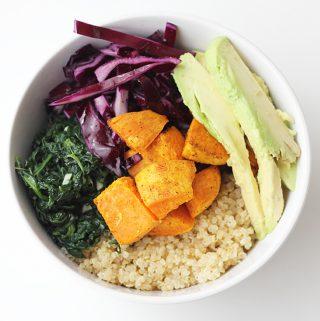 Vegane Buddha Bowl Cover