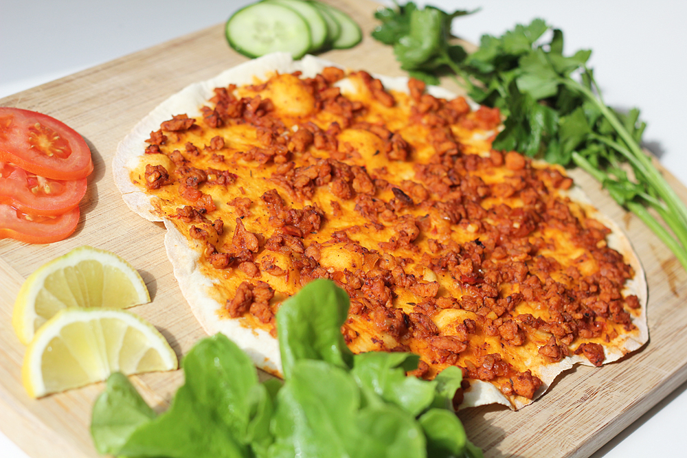 Vegan Lahmacun – Turkish Pizza