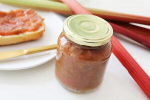 Rhubarb & Vanilla Jam