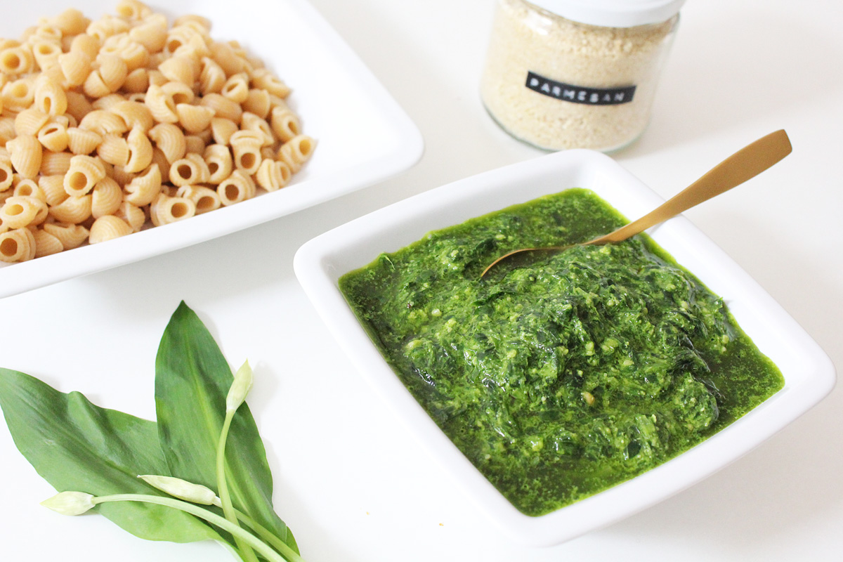 Pasta with Wild Garlic Pesto