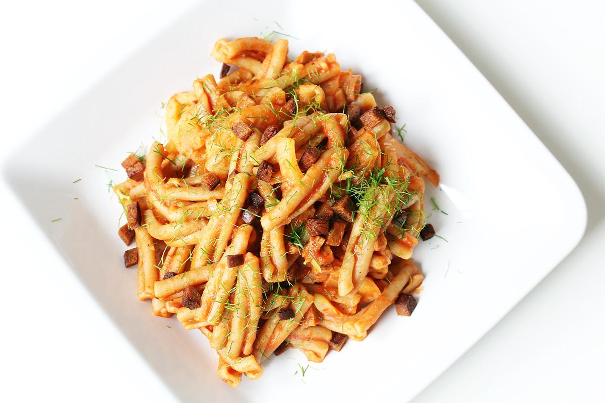 Easy Fennel Pasta