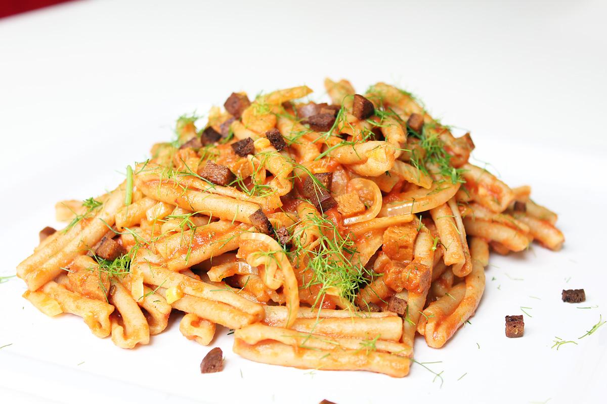 Einfache Fenchel Pasta