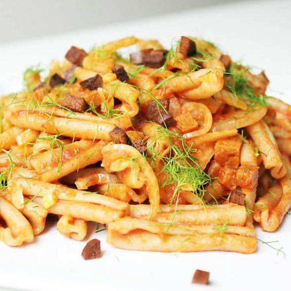 Einfache Fenchel Pasta Cover