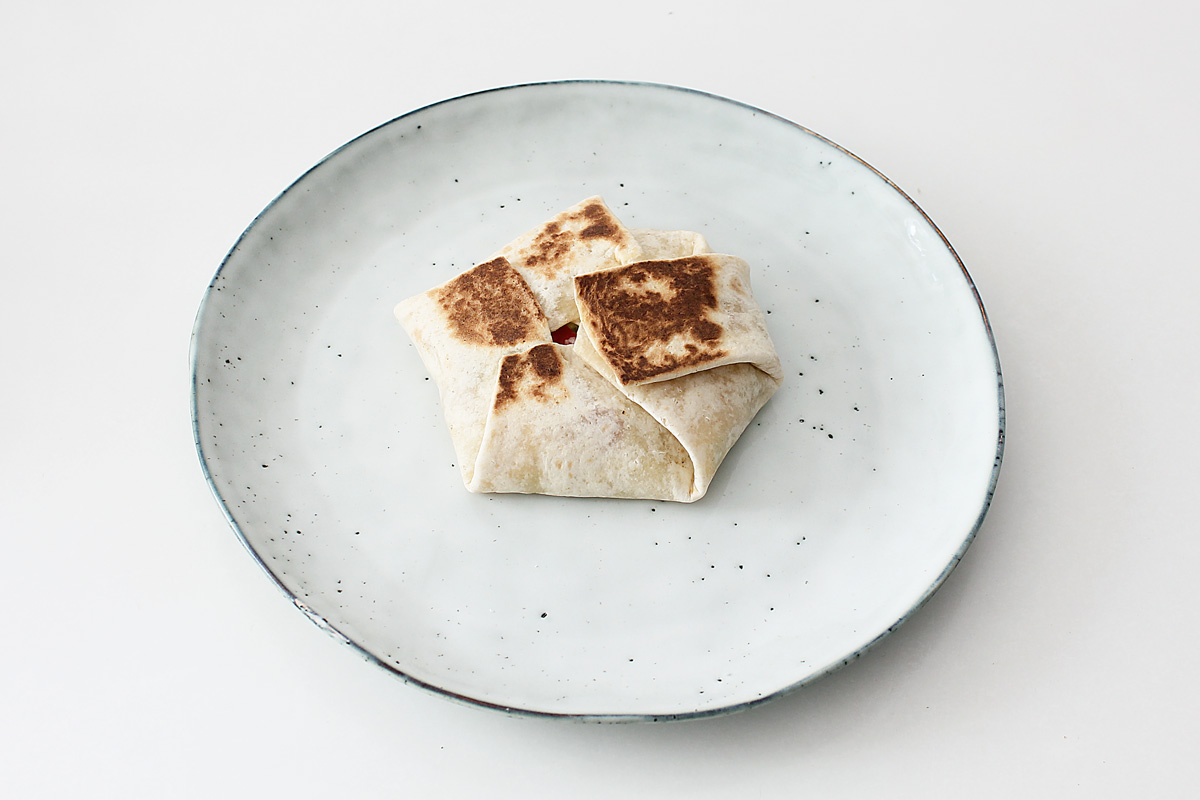 Veganer Crunchwrap Supreme
