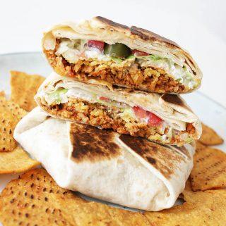 Veganer Crunchwrap Supreme Cover