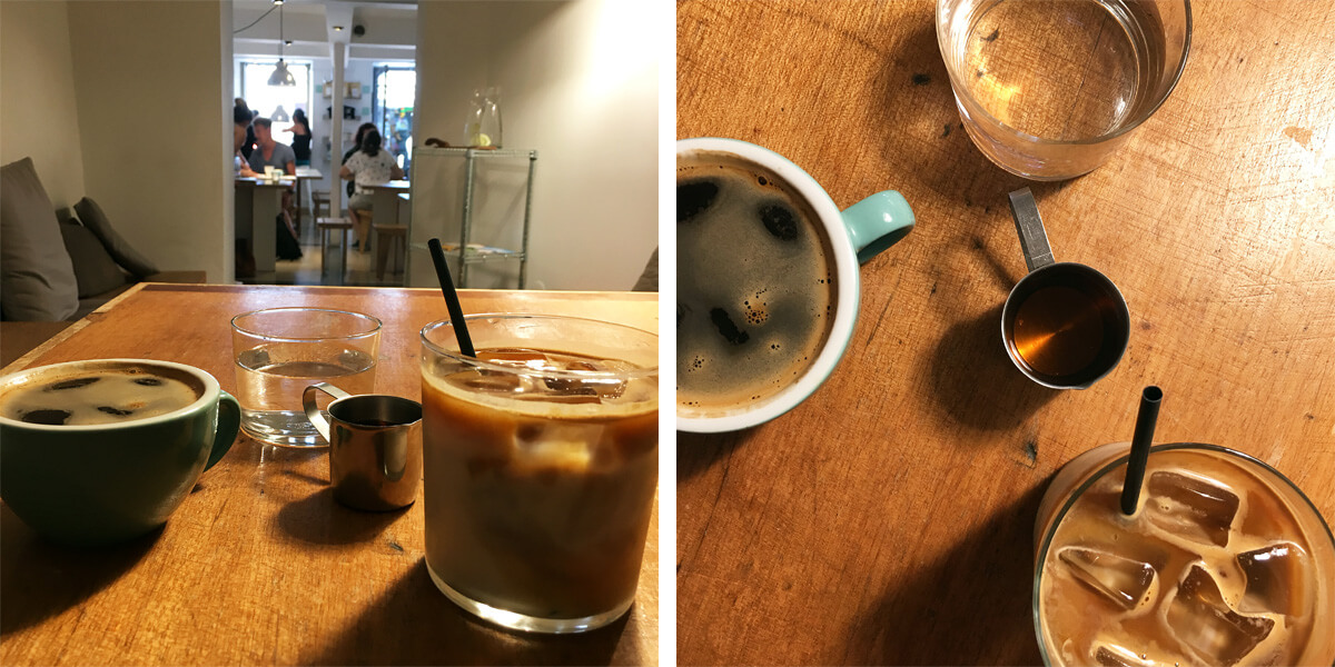 Vegan in Lissabon - Copenhagen Coffee Lab