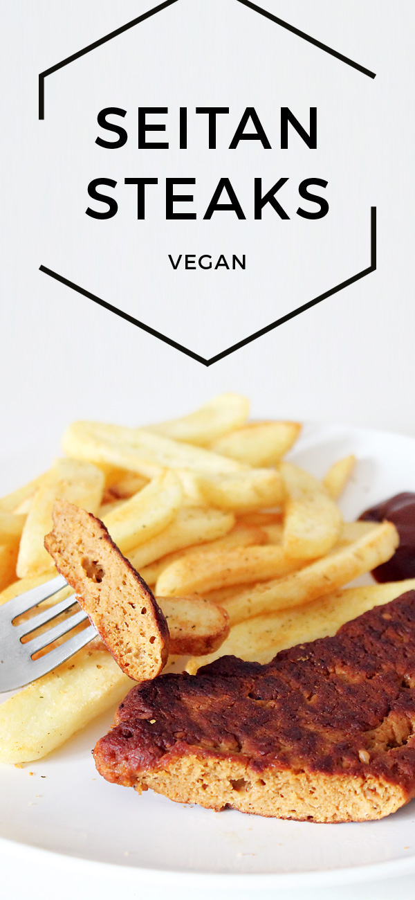 Vegane Seitan Steaks Pinterest