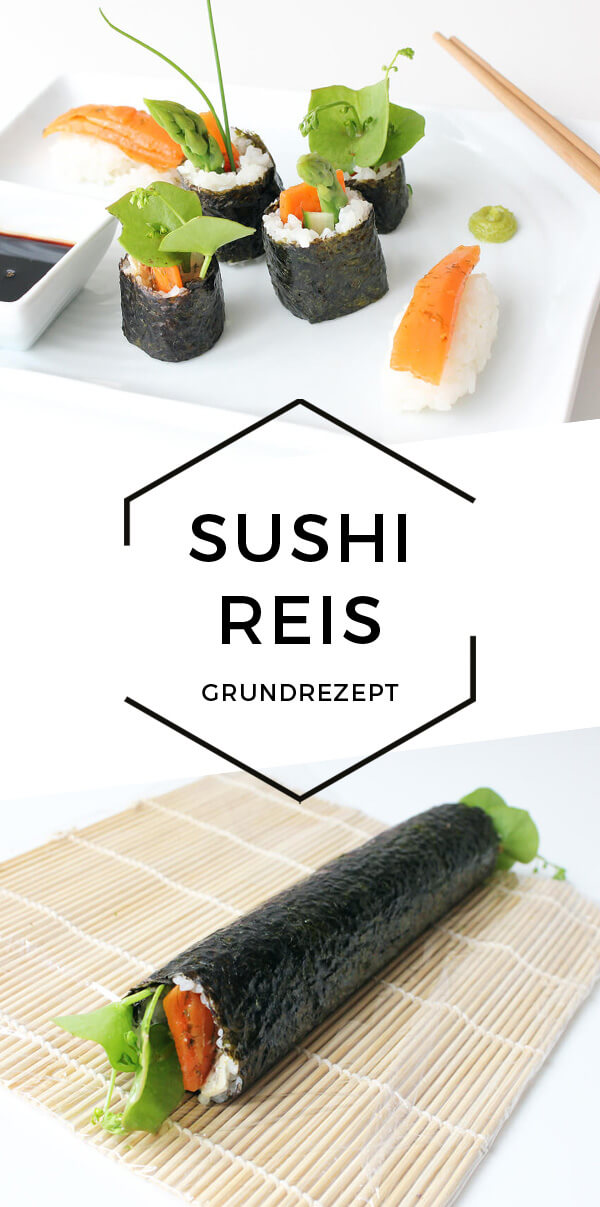 Sushireis Grundrezept - Cheap & Cheerful Cooking - Vegane Rezepte