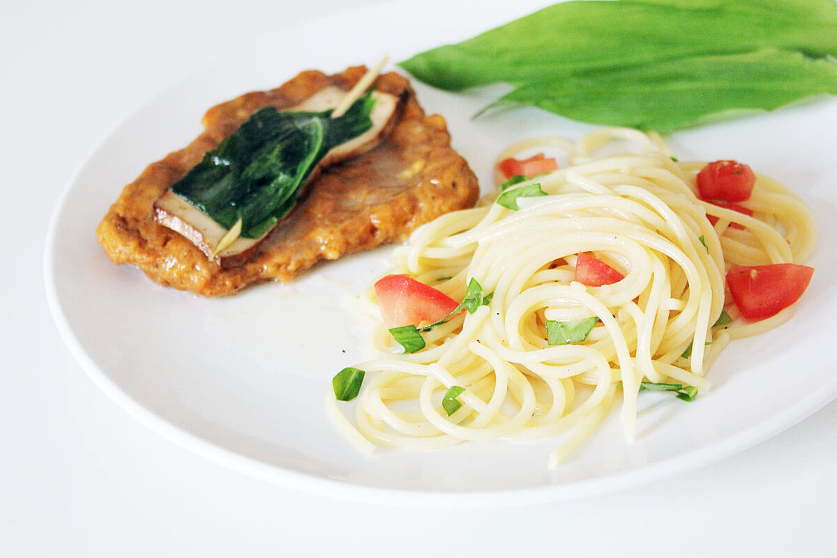 Wild Garlic Saltimbocca
