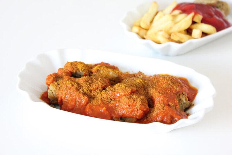 Vegan Currywurst