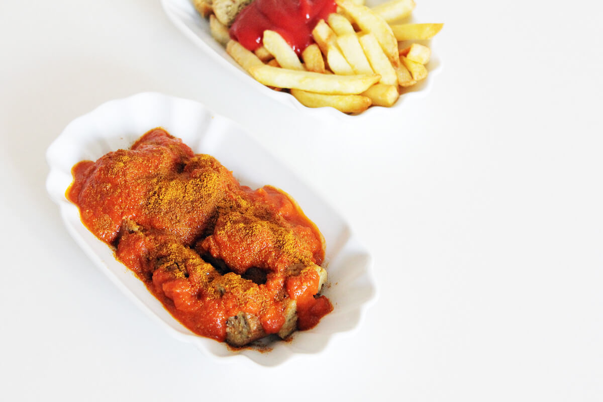 Vegan Currywurst