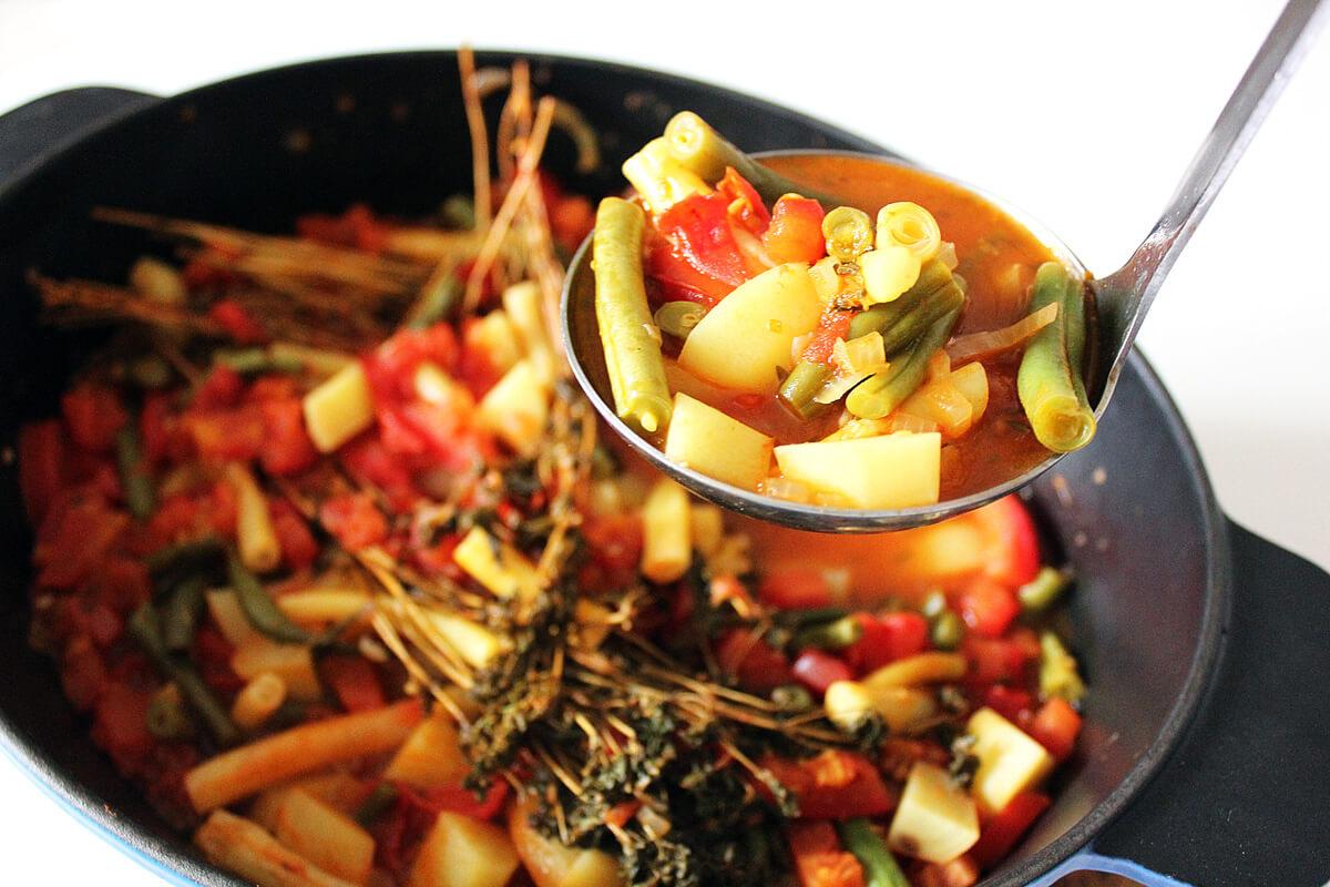 Fasolakia – Greek Bean Stew