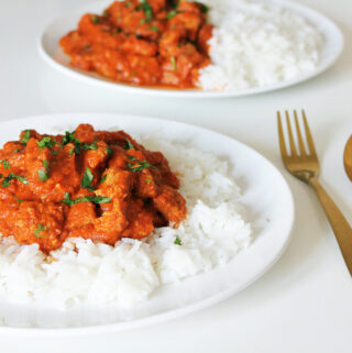 Veganes Butter Chicken