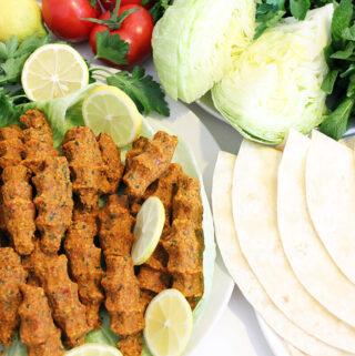Çiğ Köfte – veganes türkisches Fingerfood
