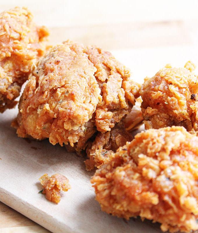 Vegan Cauliflower Hot Wings (KFC-Style)