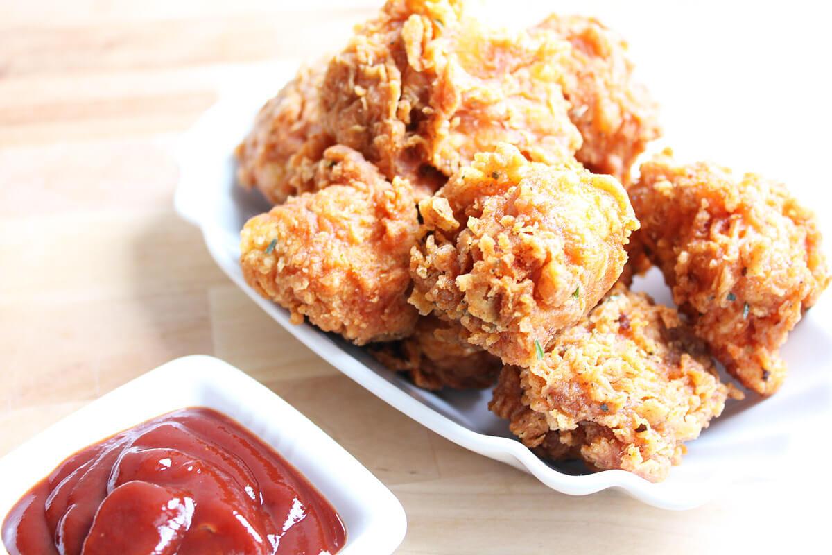 Vegane Chicken Wings aus Blumenkohl (KFC-Style)