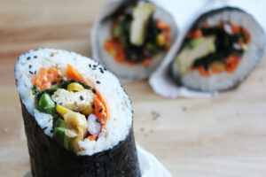 Sushi Burrito with Tofu