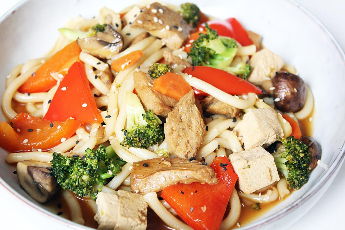 Quick Udon Noodles
