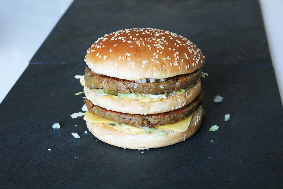 Veganer Big Mac