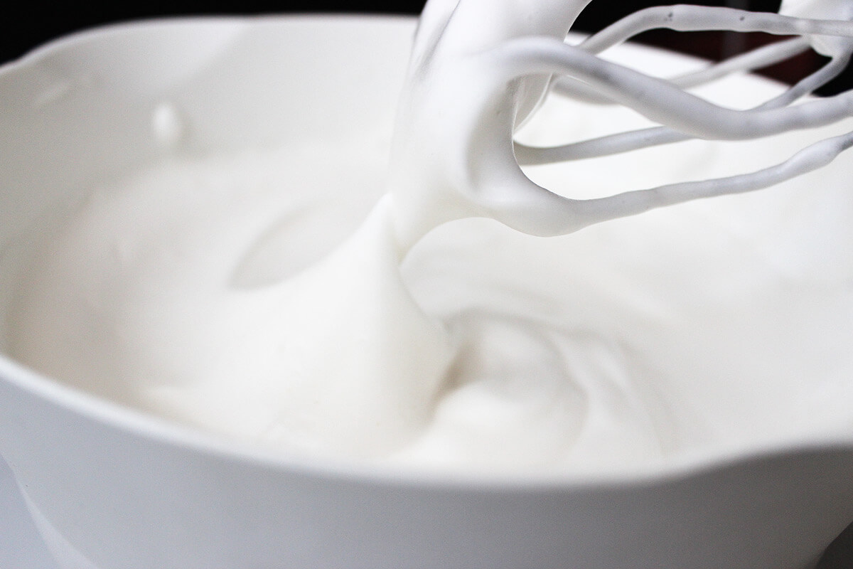Aquafaba - Vegan Whipped Egg White