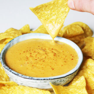 Nacho-Käse-Dip (Vegan)