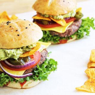 Mexikanischer Bohnen-Burger (Vegan)