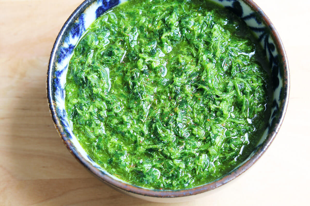 Chimichurri – Argentinian Herb Sauce