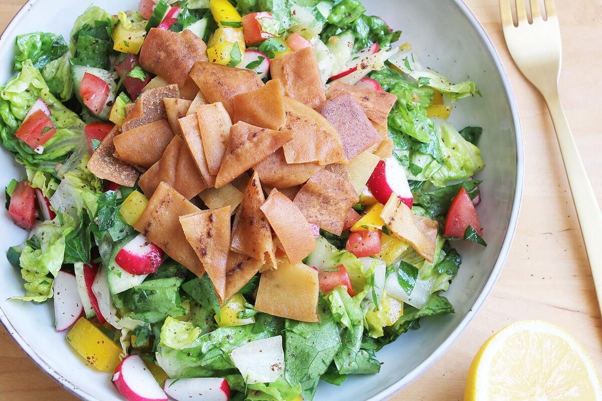 Fattoush – Lebanese Salad