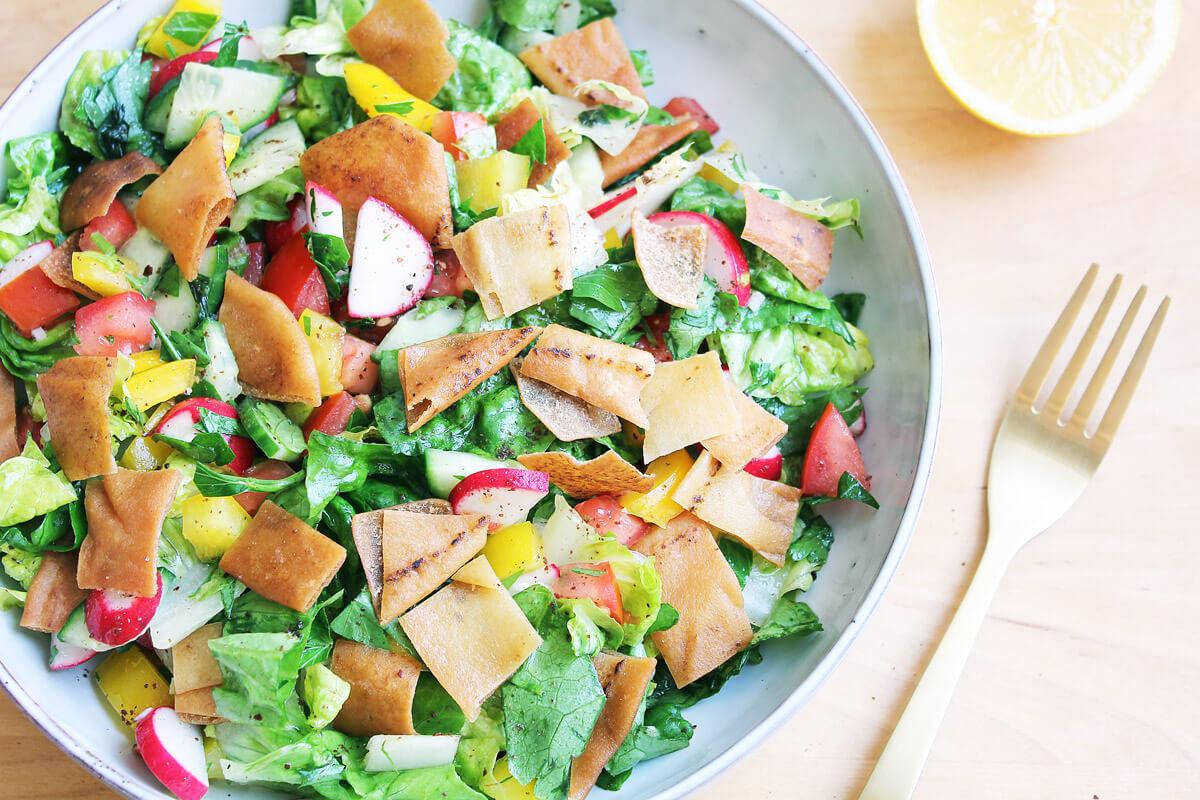 Fattoush – Libanesischer Salat