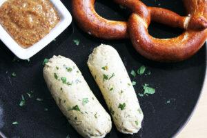 Vegan Weisswurst (Bavarian White Sausage)