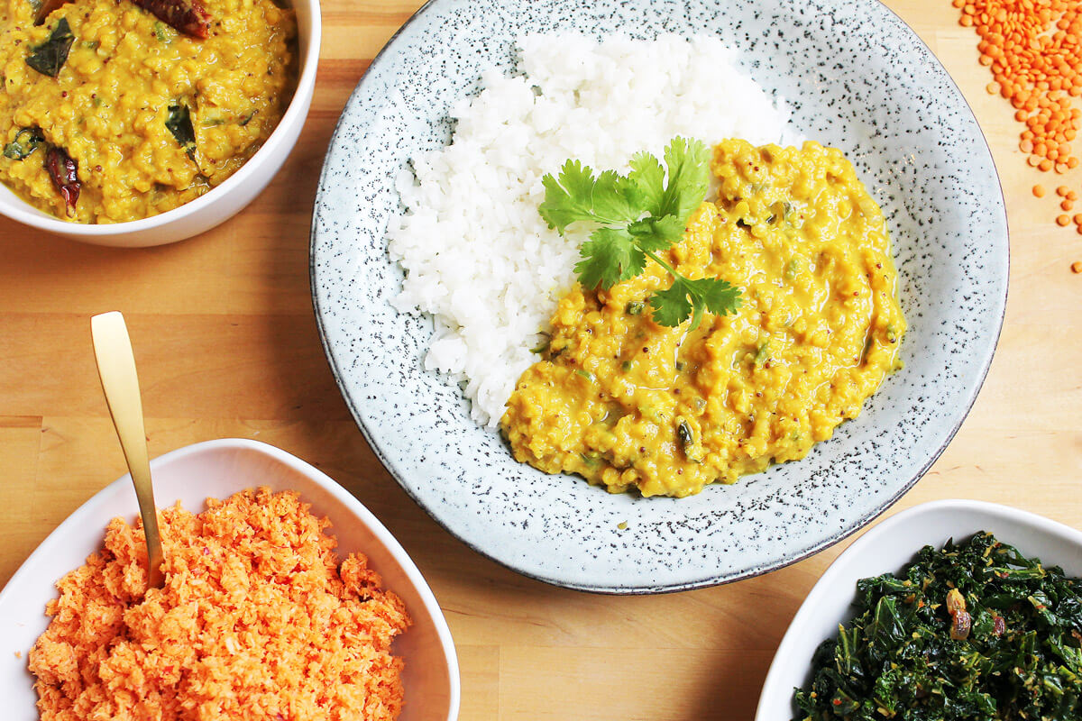 Dhal – Linsencurry aus Sri Lanka