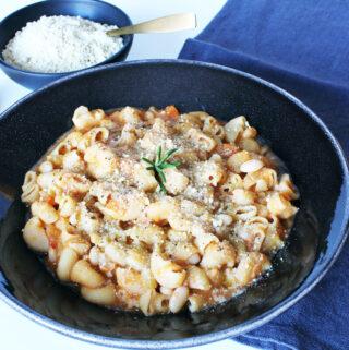 Pasta E Fagioli – Vegan Noodle-Bean-Stew