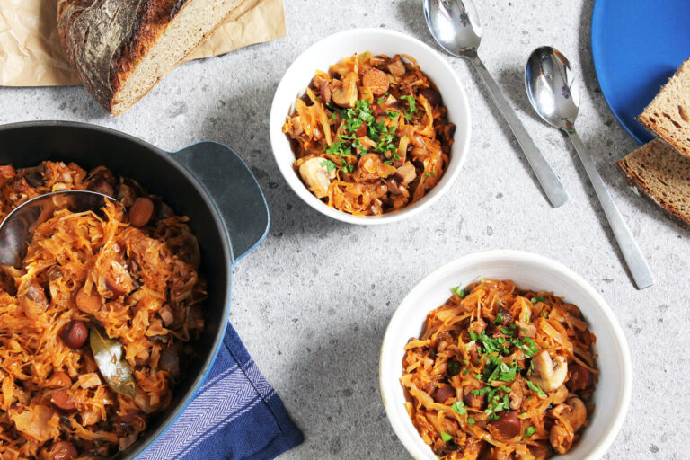 Vegan Bigos – Polish Kraut Stew