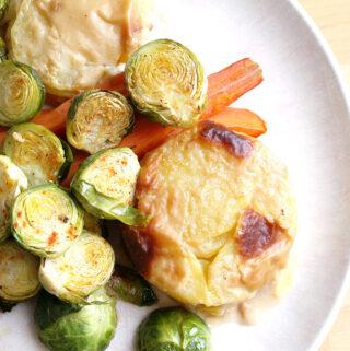 Vegane Kartoffelgratin Varianten