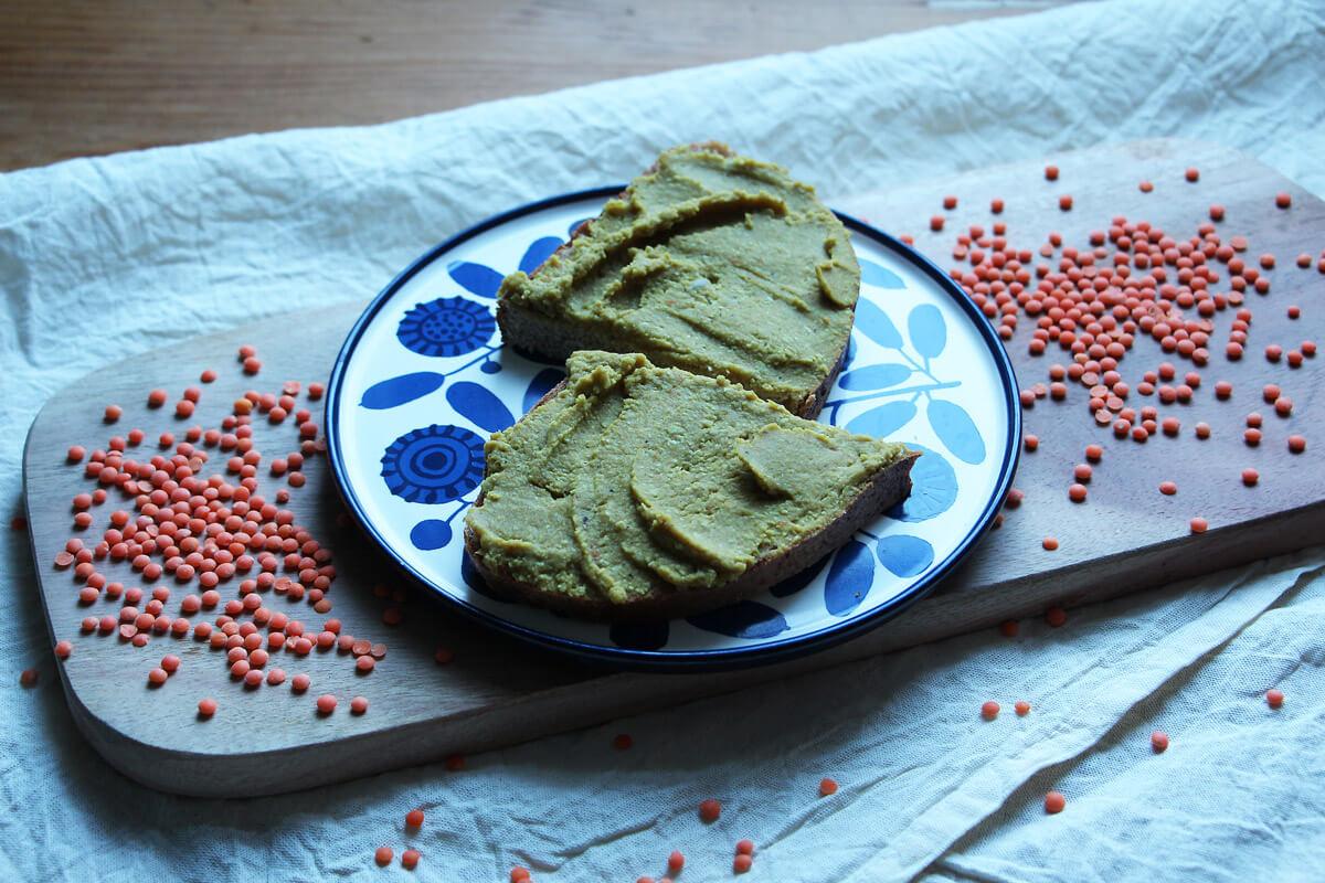 Linsen-Aufstrich mit Karotte