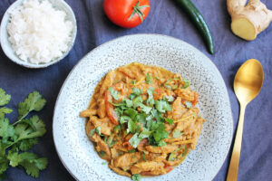 Vegan Ginger Chicken from Pakistan