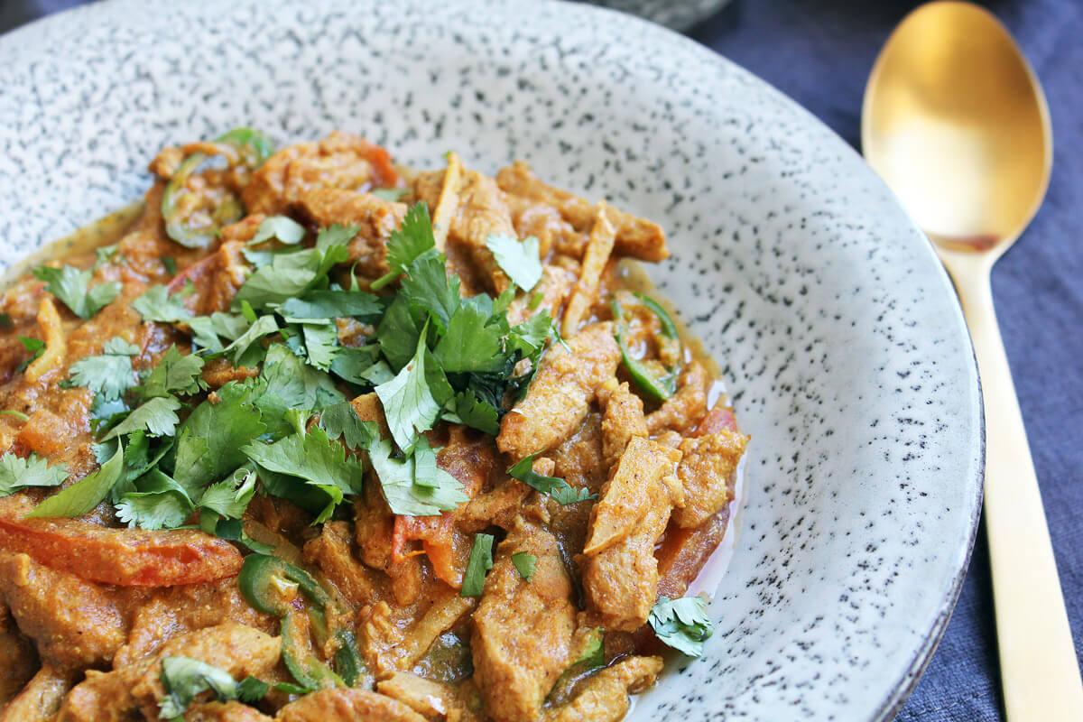 Vegan Ginger Chicken from Pakistan