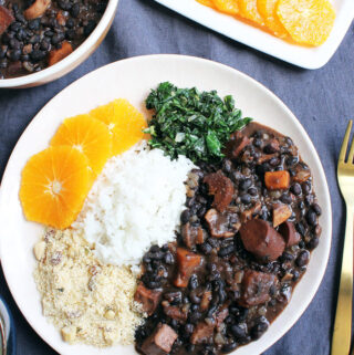 Vegane Feijoada - Brasilianisches Nationalgericht