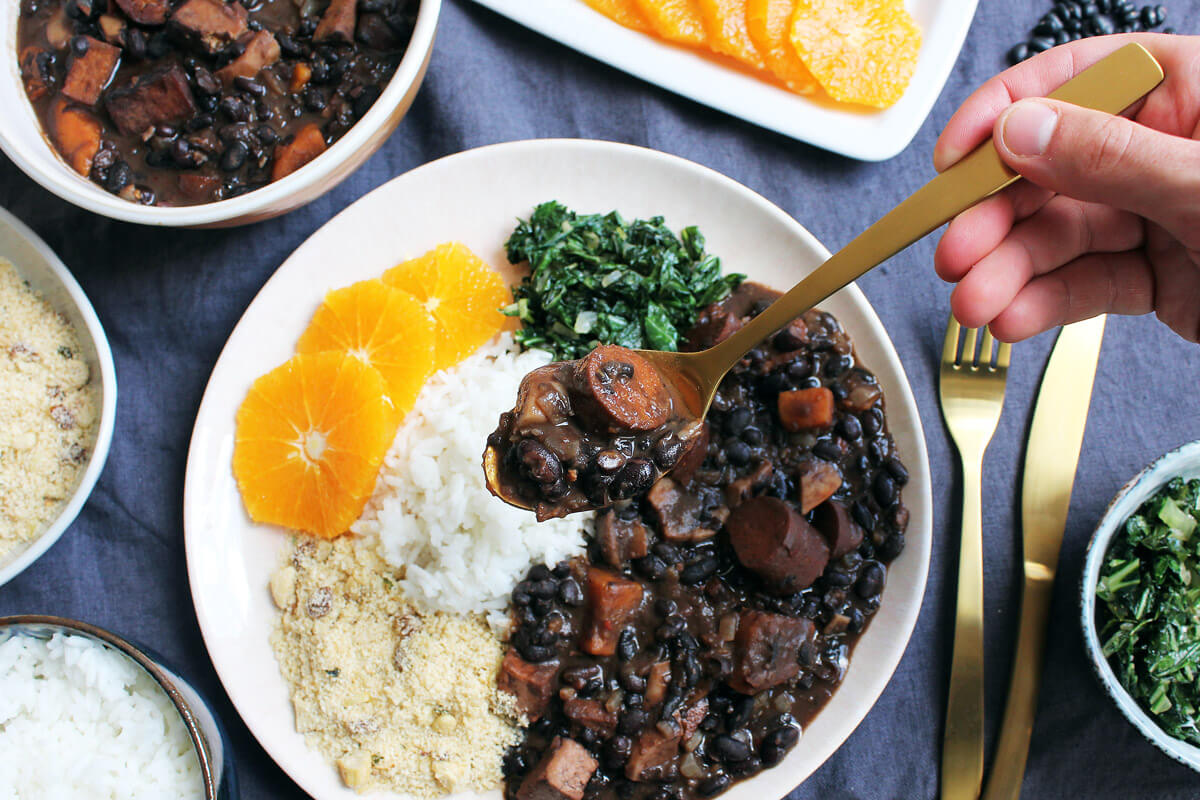 Vegane Feijoada - Brasilianisches Nationalgericht