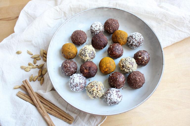 Energy Balls – Vegane Dattelkugeln